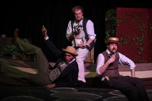 Three Men In A Boat show 1